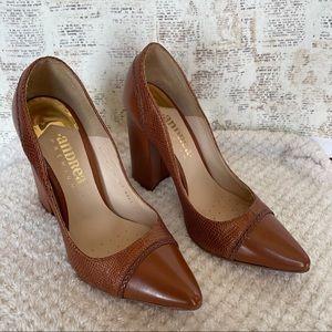 Andrea camel color shoes